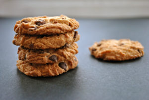 Oatmeal Chocolate Chunk Protein Cookies